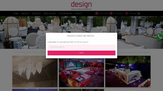 Design Event Furniture Rental